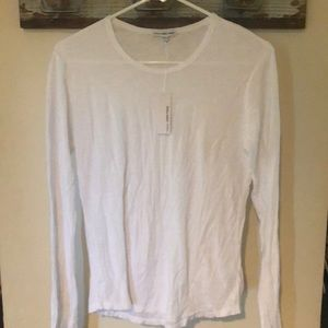 NWT James Perse The standard white top